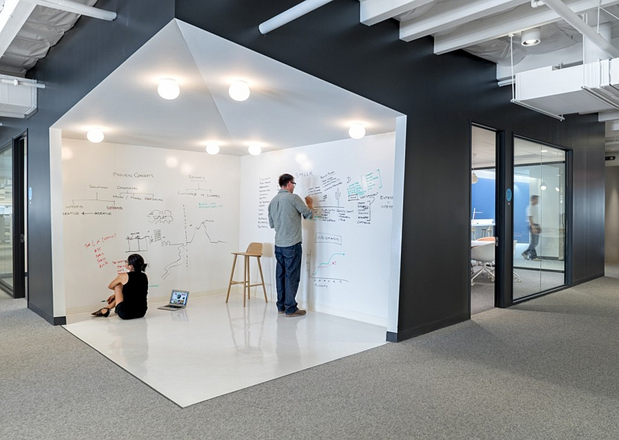 An-open-whiteboard-area-inside-the-office-where-employees-can-share-ideas
